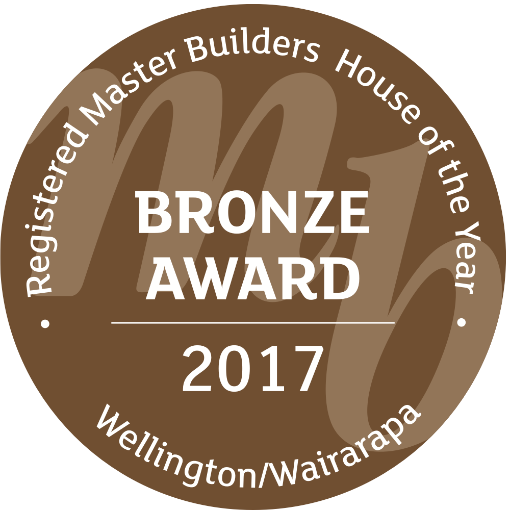 Master Builders Wellington - 2017 Bronze
