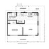 Studio - Floorplan Hawea